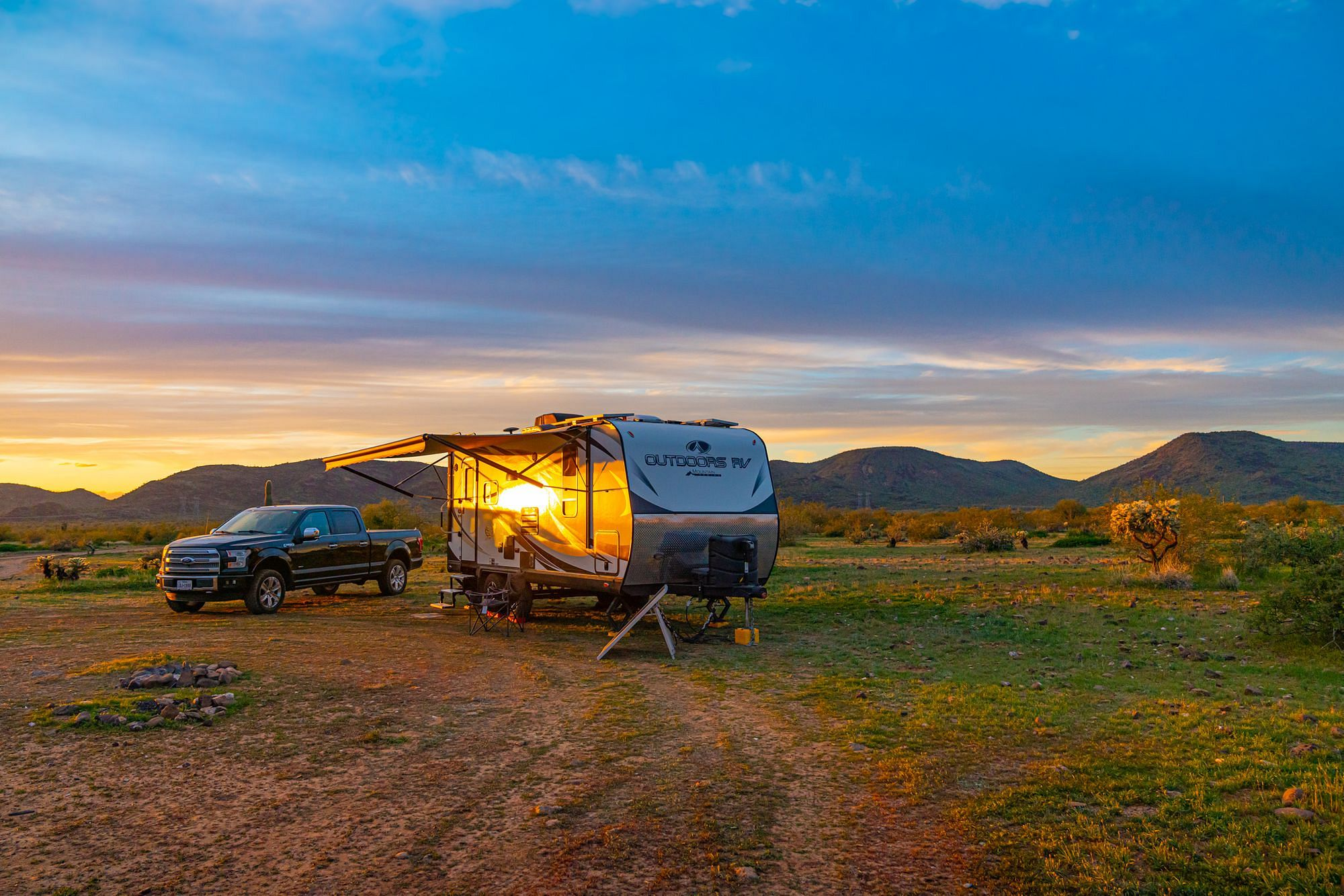 Boondocking in Arizona