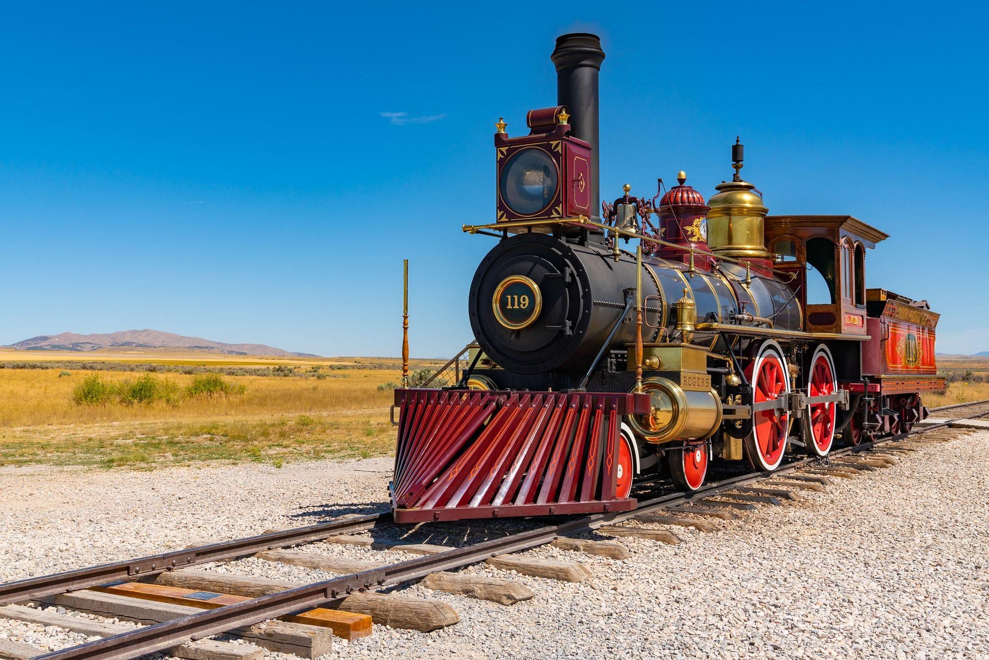 Union Pacific No 119 Locomotive