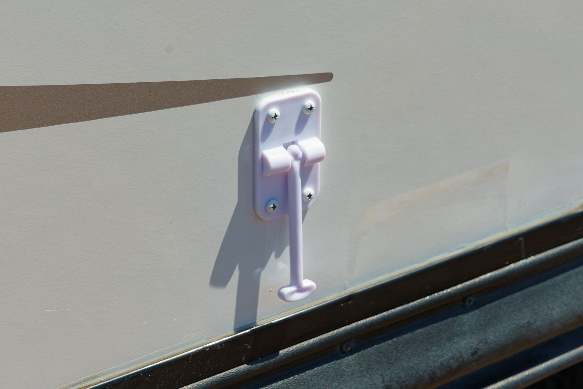 RV Latch Install